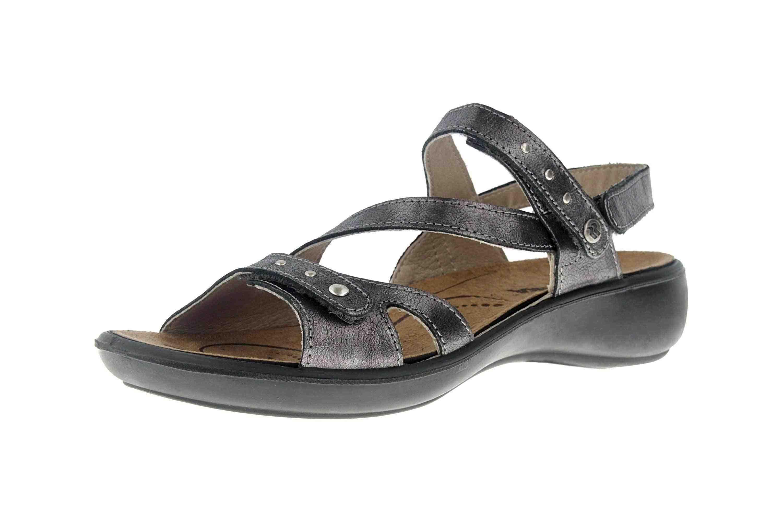Romika Ibiza 70 Sandalen in Übergrößen Grau 16070 49 700 große Damenschuhe – Bild 6