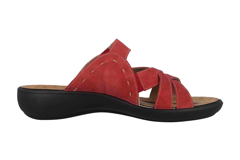 Romika Ibiza 99 Pantoletten in Übergrößen Rot 16099 40 450 große Damenschuhe – Bild 4
