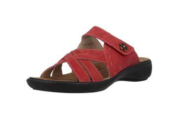 Romika Ibiza 99 Pantoletten in Übergrößen Rot 16099 40 450 große Damenschuhe – Bild 6