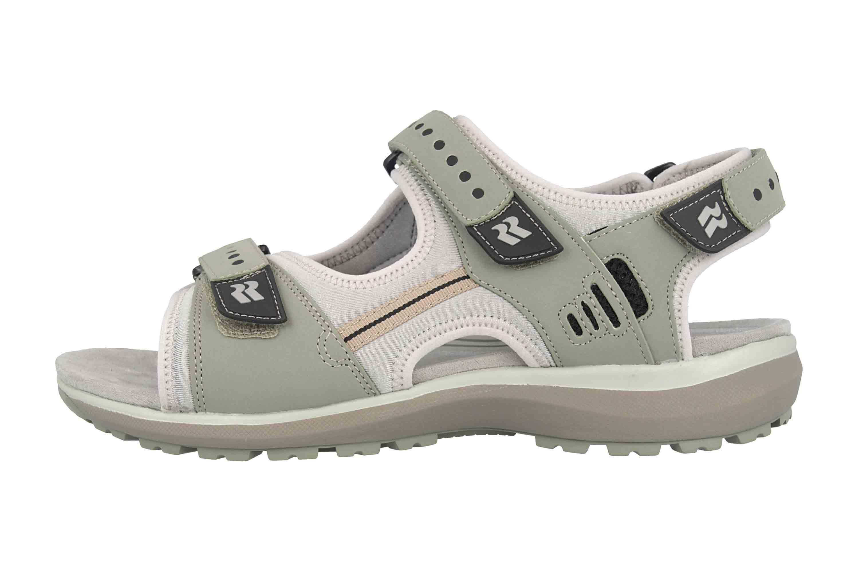 Romika Olivia 02 Sandalen in Übergrößen Grün 78302 78 610 große Damenschuhe – Bild 1