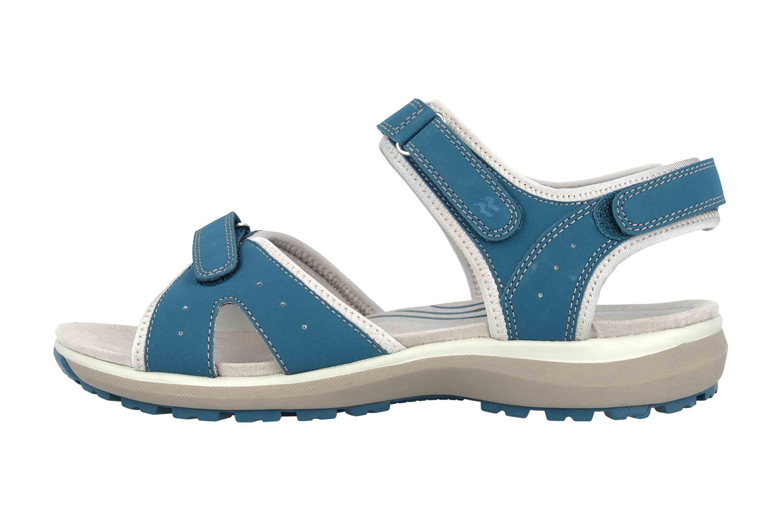 Romika Olivia 07 Sandalen in Übergrößen Blau 78307 78 515 große Damenschuhe – Bild 1