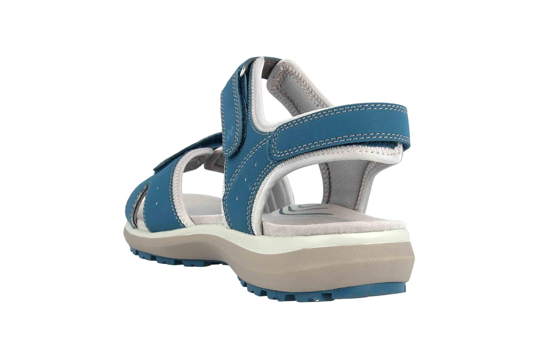 Romika Olivia 07 Sandalen in Übergrößen Blau 78307 78 515 große Damenschuhe – Bild 2