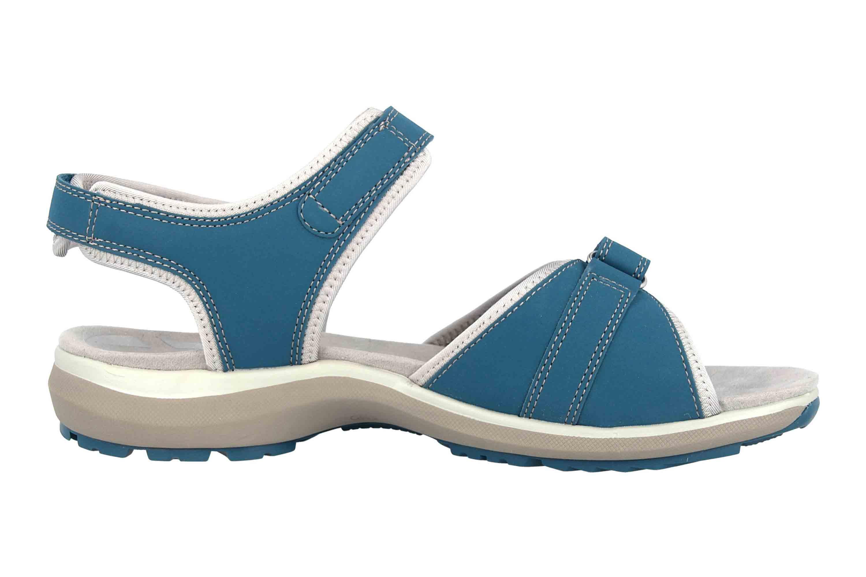 Romika Olivia 07 Sandalen in Übergrößen Blau 78307 78 515 große Damenschuhe – Bild 4