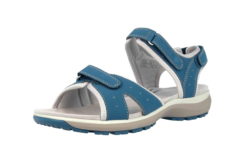 Romika Olivia 07 Sandalen in Übergrößen Blau 78307 78 515 große Damenschuhe – Bild 6