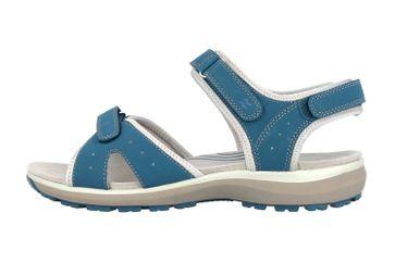 Romika Olivia 07 Sandalen in Übergrößen Blau 78307 78 515 große Damenschuhe