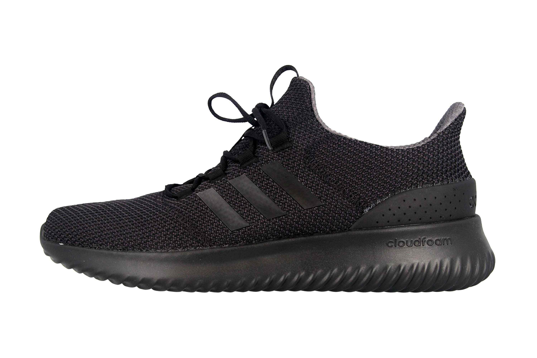 Adidas Cloudfoam Ultimate Sneaker in Übergrößen Schwarz BC0018 große Herrenschuhe – Bild 1