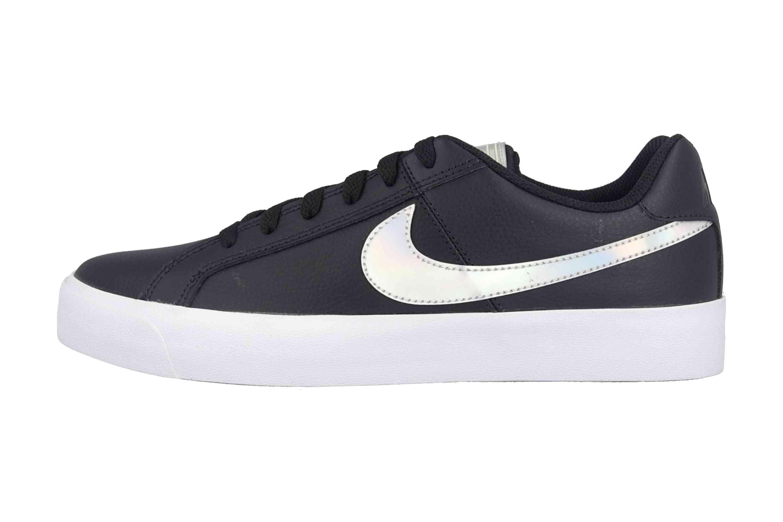 Nike Court Royale AC Sneakers in Übergrößen Schwarz A02810 002 große Damenschuhe – Bild 1