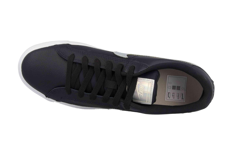 Nike Court Royale AC Sneakers in Übergrößen Schwarz A02810 002 große Damenschuhe – Bild 7