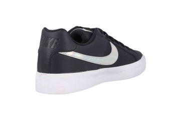 Nike Court Royale AC Sneakers in Übergrößen Schwarz A02810 002 große Damenschuhe – Bild 3