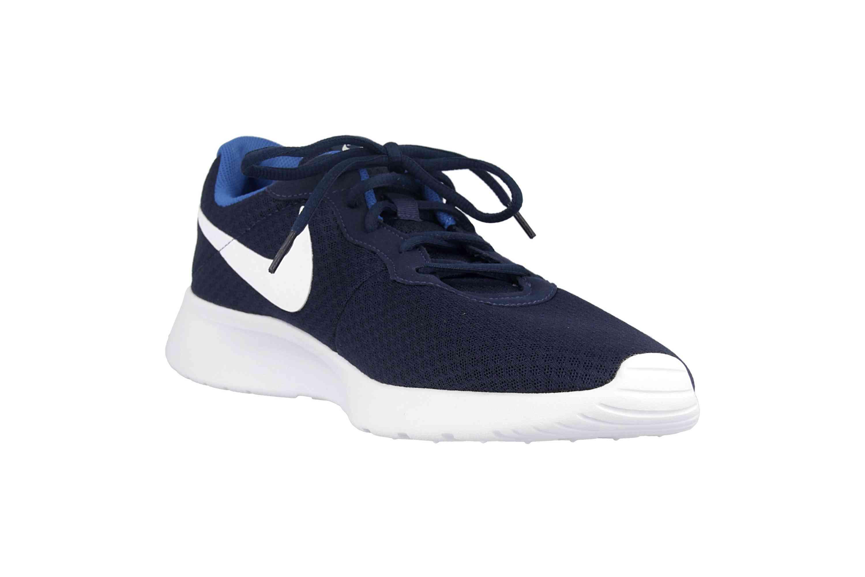Nike Tanjun Sneaker in Übergrößen Blau 812654 414 große Herrenschuhe – Bild 5