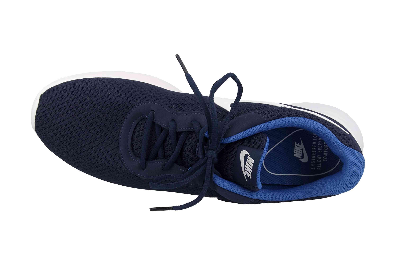 Nike Tanjun Sneaker in Übergrößen Blau 812654 414 große Herrenschuhe – Bild 7