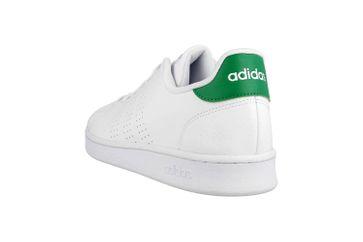 Adidas Advantage Sneaker in Übergrößen Weiß F36424 große Herrenschuhe – Bild 2