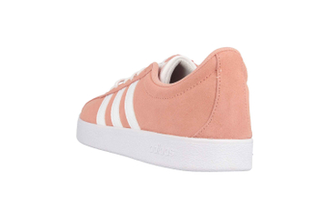 Adidas VL Court 2.0 Sneaker in Übergrößen Pink F35129 große Damenschuhe – Bild 2