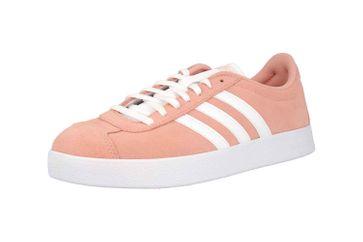 Adidas VL Court 2.0 Sneaker in Übergrößen Pink F35129 große Damenschuhe – Bild 6
