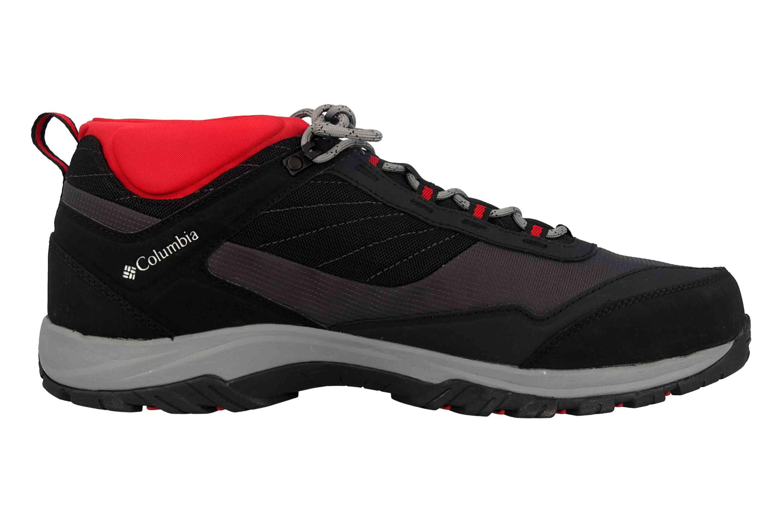 Detalles de Columbia Terrebonne trekking zapatos en talla extragrande negro bm 5521 010 grandes Herre ver título original