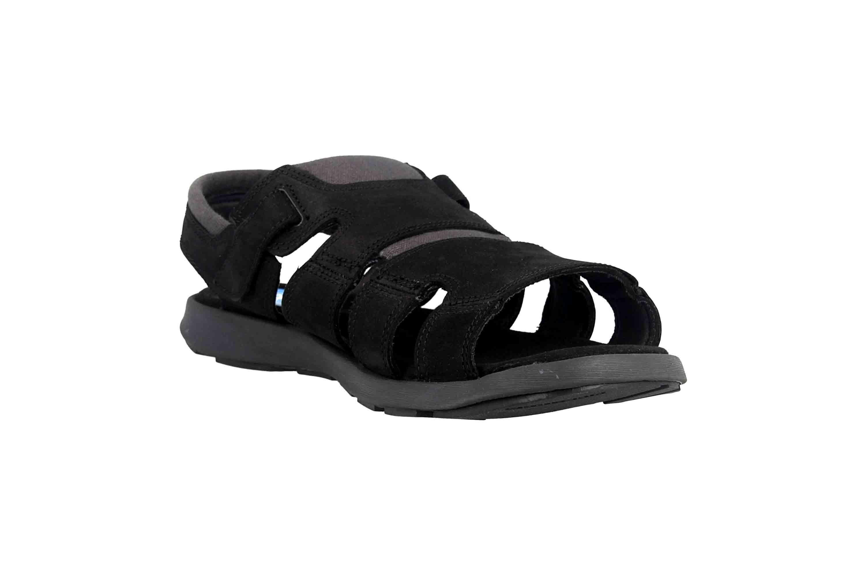 Columbia SALERNO Sandalen in Übergrößen Schwarz BM 1002-010 große Herrenschuhe – Bild 5