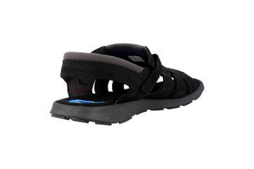 Columbia SALERNO Sandalen in Übergrößen Schwarz BM 1002-010 große Herrenschuhe – Bild 3