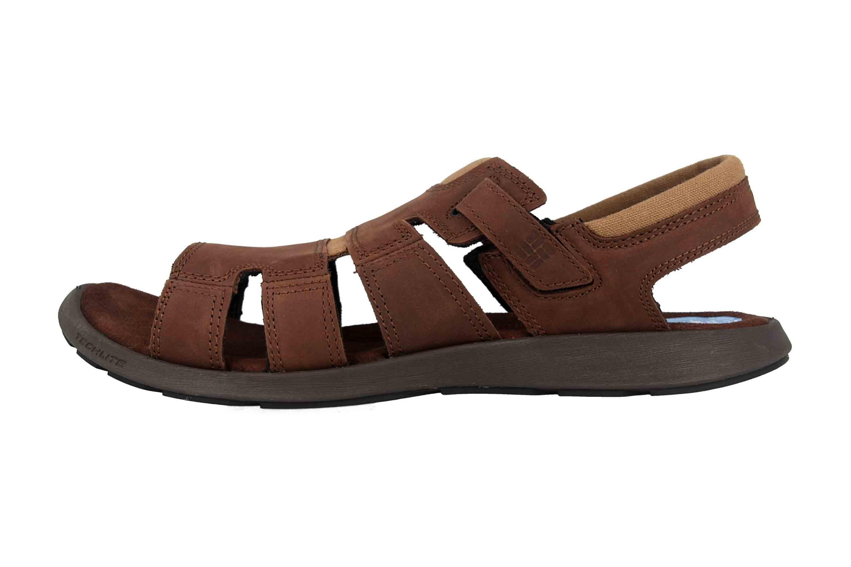 Columbia SALERNO Sandalen in Übergrößen Braun BM 1002-256 große Herrenschuhe – Bild 1