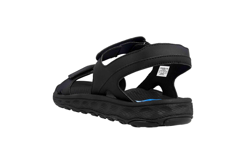 Columbia BUXTON Sandalen in Übergrößen Schwarz BM 4692-010 große Herrenschuhe – Bild 2
