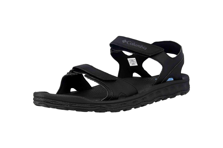 Columbia BUXTON Sandalen in Übergrößen Schwarz BM 4692-010 große Herrenschuhe – Bild 6