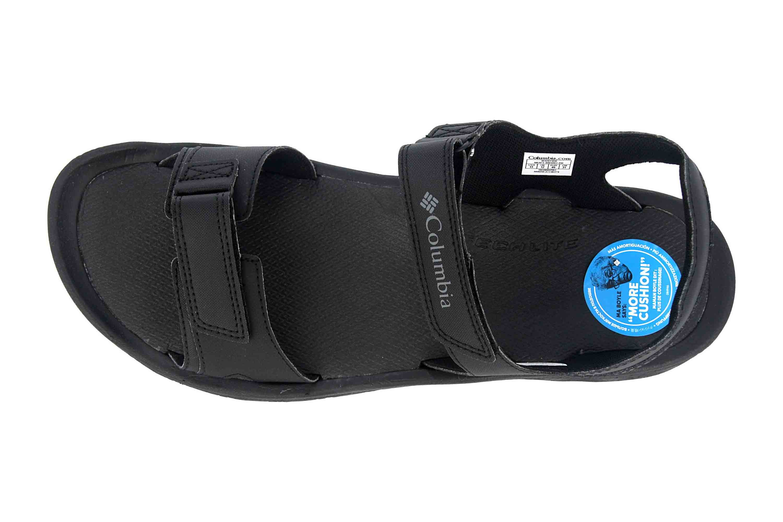 Columbia BUXTON Sandalen in Übergrößen Schwarz BM 4692-010 große Herrenschuhe – Bild 7