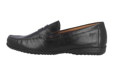 Sioux Giufano-XL Slipper in Übergrößen Schwarz 34892 große Herrenschuhe – Bild 1
