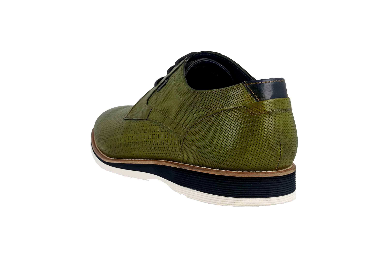 best website a969f a6ef6 Sioux Quintero-701 Business-Schuhe in Übergrößen Grün 36511 große  Herrenschuhe