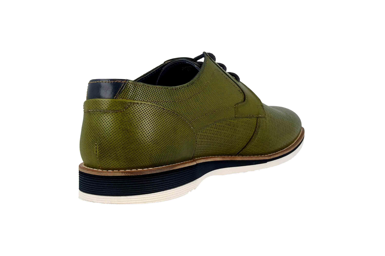 Sioux Quintero-701 Business-Schuhe in Übergrößen Grün 36511 große Herrenschuhe – Bild 3