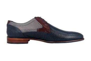 Sioux Quintero-701 Business-Schuhe in Übergrößen Blau 36723 große Herrenschuhe – Bild 4