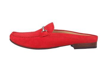 Sioux Cortizia-702 Sabot in Übergrößen Rot 63094 große Damenschuhe – Bild 1