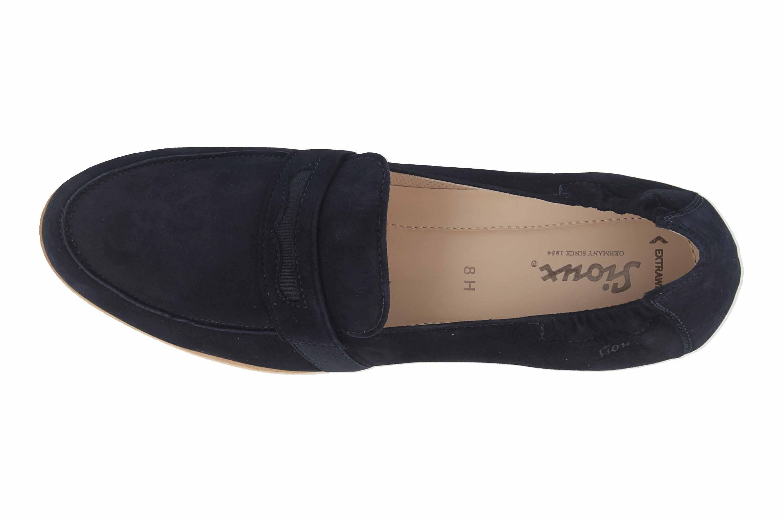 Sioux Meredith-706-XL Slipper in Übergrößen Blau 63591 große Damenschuhe – Bild 7