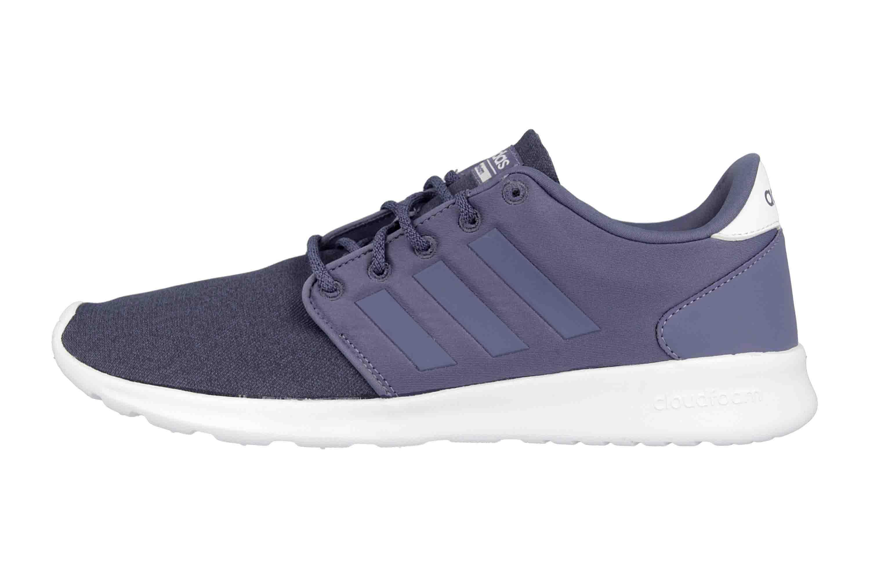 0d457912fee6b4 Adidas CF QT Racer Sneaker in Übergrößen Blau F34783 große Damenschuhe ...