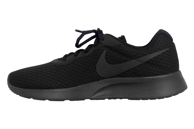 Nike Tanjun Sneakers in Übergrößen Schwarz 812655 002 große Damenschuhe