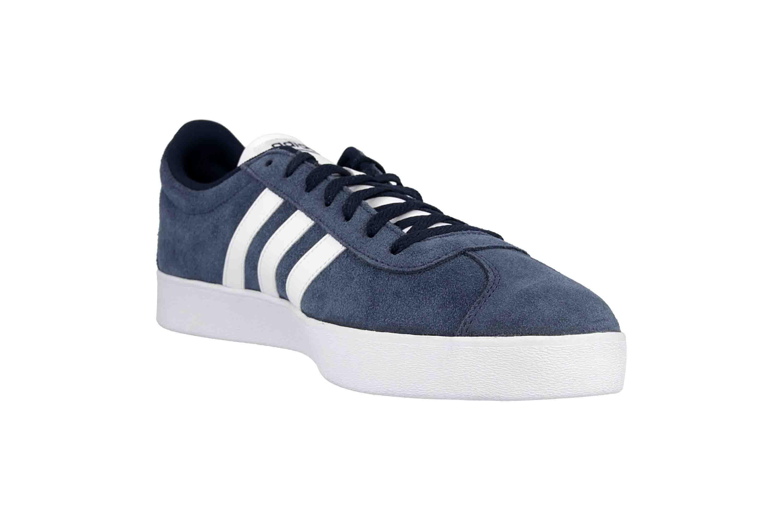 Adidas VL Court 2.0 Sneaker in Übergrößen Blau DA9854 große Herrenschuhe – Bild 5