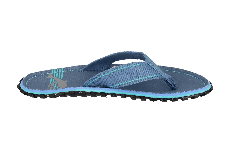 Gumbies Islander Blue Pool Zehentrenner in Übergrößen Blau 2228 große Damenschuhe – Bild 4