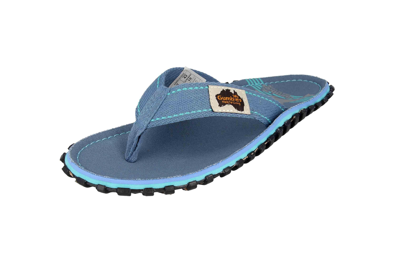 Gumbies Islander Blue Pool Zehentrenner in Übergrößen Blau 2228 große Damenschuhe – Bild 6