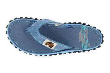 Gumbies Islander Blue Pool Zehentrenner in Übergrößen Blau 2228 große Damenschuhe – Bild 7