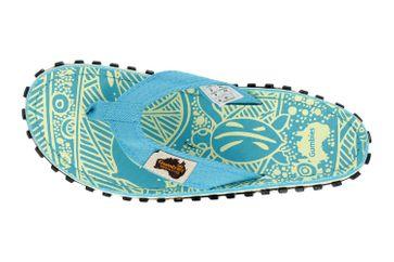 Gumbies Islander Turquoise Signature Zehentrenner in Übergrößen Türkis 2203 große Damenschuhe – Bild 7