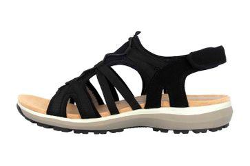 Romika Olivia 08 Sandalen in Übergrößen Schwarz 78308 78 100 große Damenschuhe – Bild 1