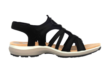 Romika Olivia 08 Sandalen in Übergrößen Schwarz 78308 78 100 große Damenschuhe – Bild 4
