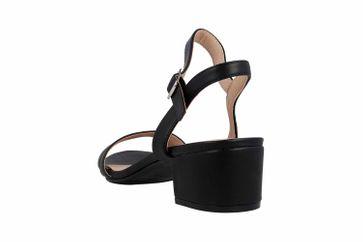 Andres Machado Sandalen in Übergrößen Schwarz AM5364 Soft Negro große Damenschuhe – Bild 2