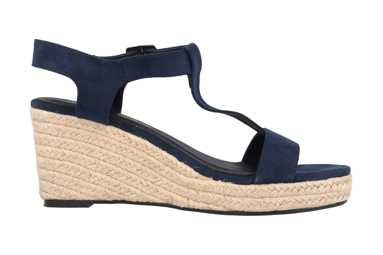 Andres Machado Sandaletten in Übergrößen Blau AM5343 Ante Marino große Damenschuhe – Bild 4
