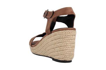 Andres Machado Sandaletten in Übergrößen Braun AM5343 Ante Marron große Damenschuhe – Bild 2