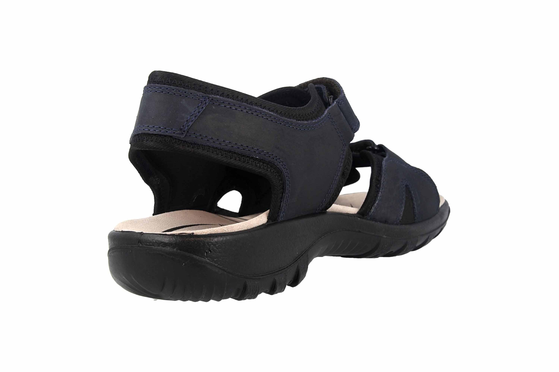 Jomos Sandalen in Übergrößen Blau 504609 12 861 große Herrenschuhe – Bild 3