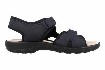 Jomos Sandalen in Übergrößen Blau 504609 12 861 große Herrenschuhe – Bild 4