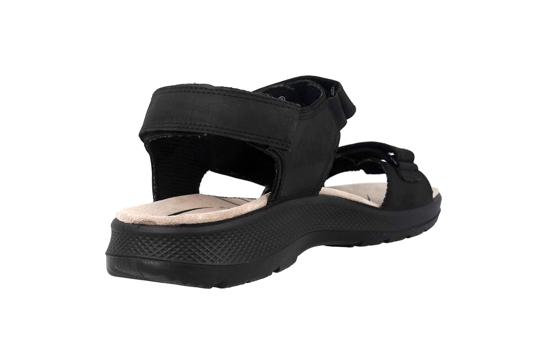Jomos  Sandalen in Übergrößen Schwarz 506605 166 0044 große Herrenschuhe – Bild 3