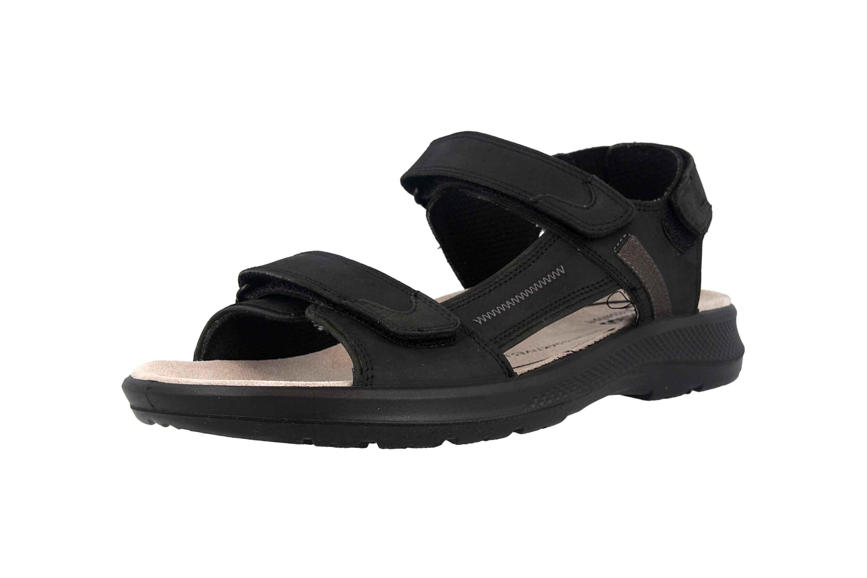 Jomos  Sandalen in Übergrößen Schwarz 506605 166 0044 große Herrenschuhe – Bild 6