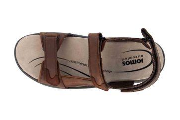 Jomos  Sandalen in Übergrößen Braun 506605 166 3020 große Herrenschuhe – Bild 7