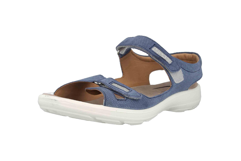Jomos  Sandalen in Übergrößen Blau 890607 987 8096 große Damenschuhe – Bild 6