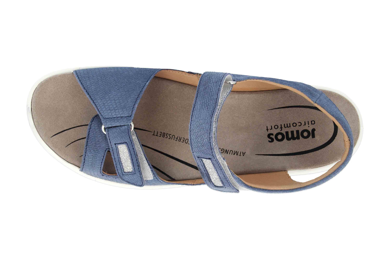 Jomos  Sandalen in Übergrößen Blau 890607 987 8096 große Damenschuhe – Bild 7